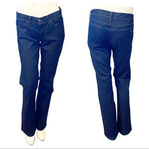 Habitual For Tory Burch Logo Jeans- 27